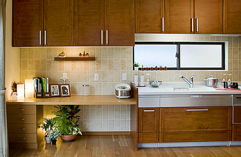 Beハウスのキッチンと収納.png
