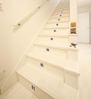 白いナンバー階段.png