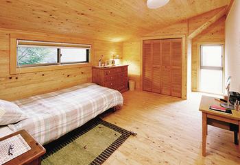 国産杉に囲まれた寝室.png